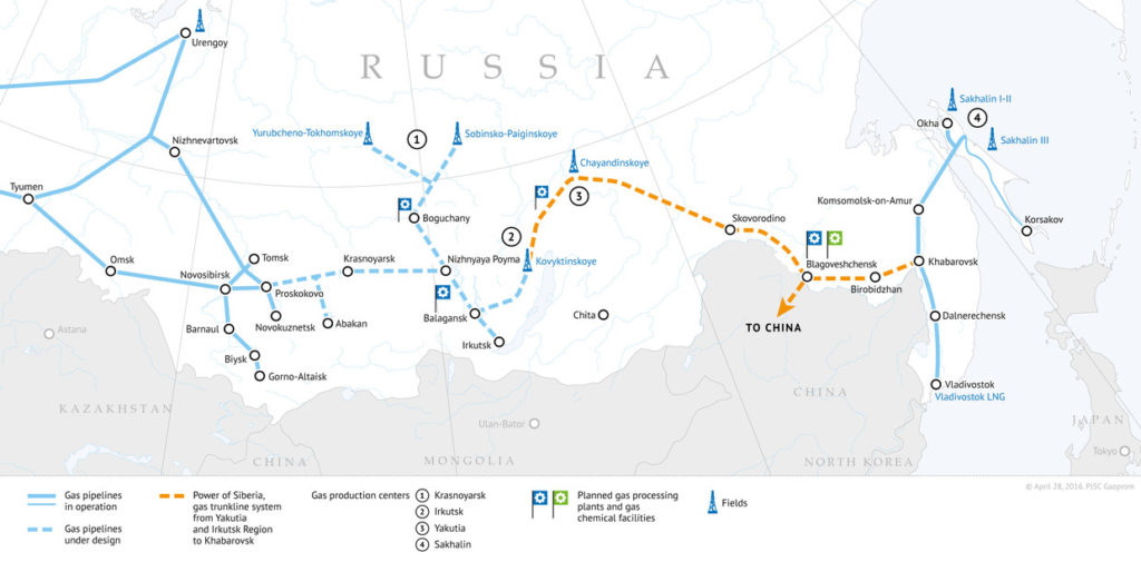 3000 km Gas Pipeline From Russia To China 99% Complete