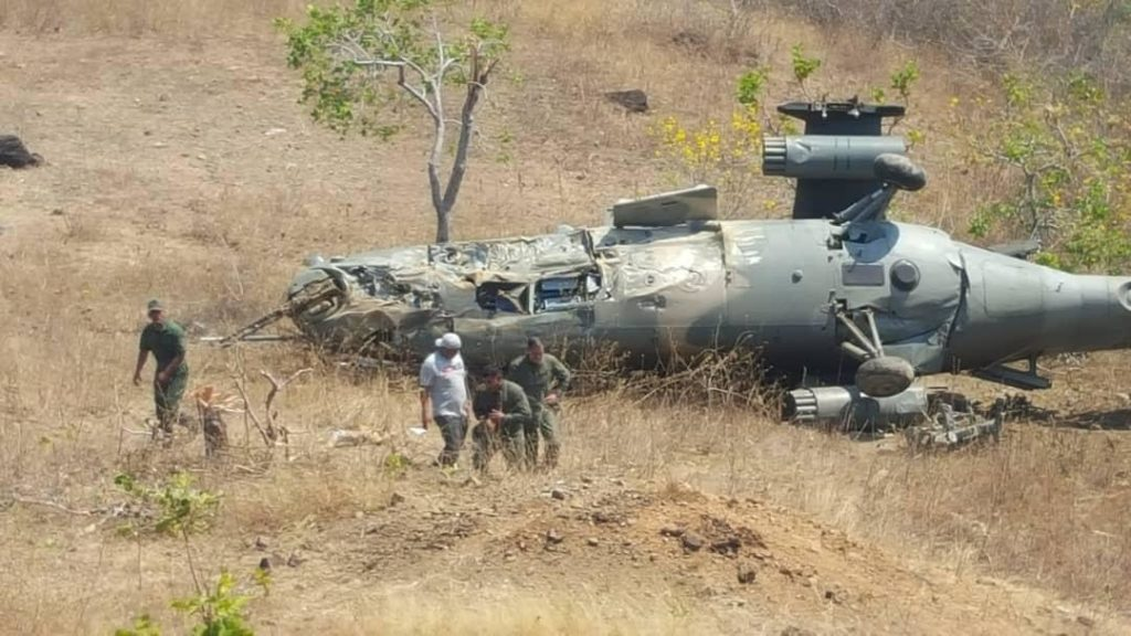 Venezuelan Military Helicopter Crashes Amid Drills Against 'Possible US Aggression'