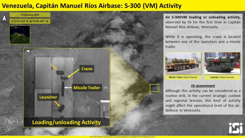 Venezuelan Military Prepares To Fight US Invasion, Releases S-300 From Mothballs (Sattelite Image)