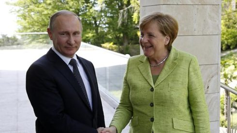 Merkel Draws the Line Against Trump