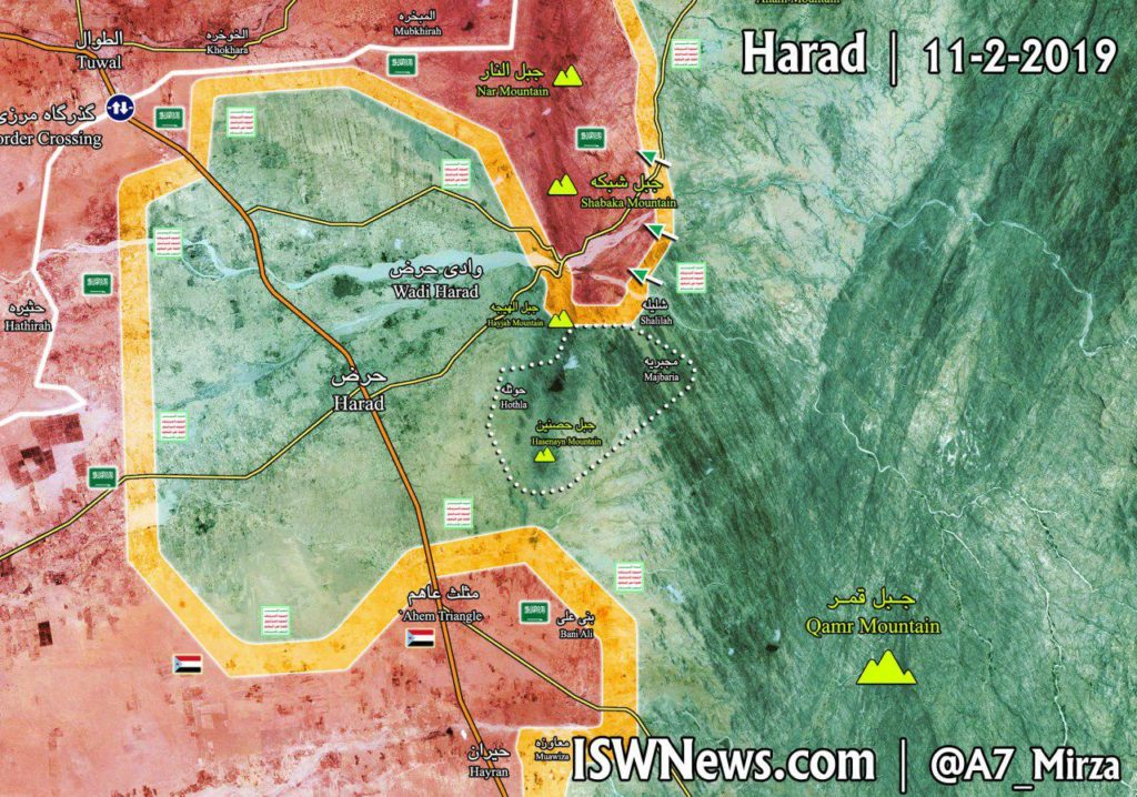 Ansar Allah Retakes Hosnayn Mountain From Saudi-led Forces In Hajjah Province (Map Update)