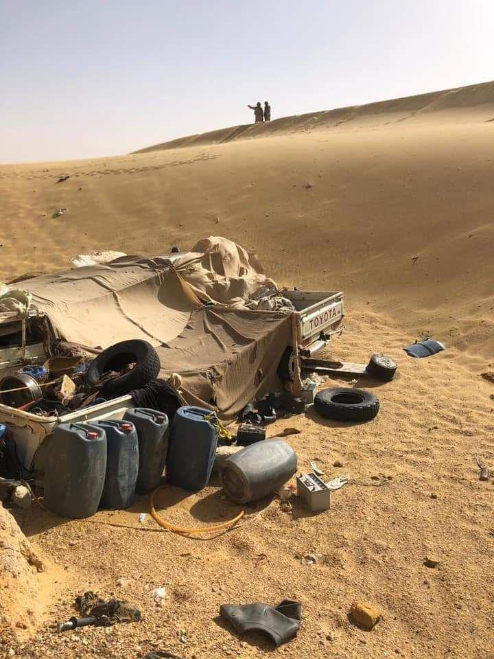 Security Forces Eliminated 8 Terrorists, 3 Vehicles In Egypt's Western Desert (Photos)