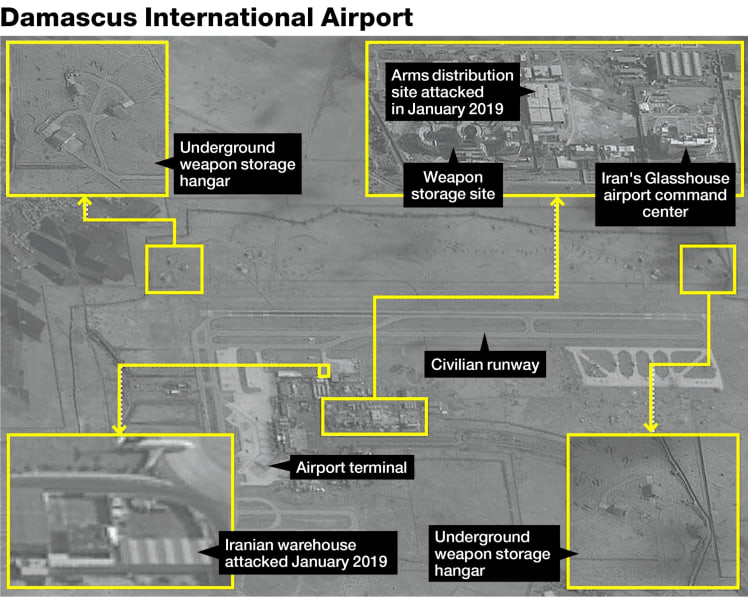 Iranian Forces Are Withdrawing From Damascus Airport – Reports