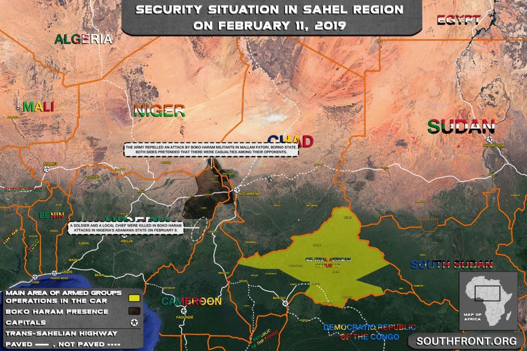 Army Clashing With Boko Haram In Nigeria's Borno And Adamawa States
