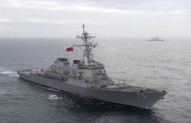USS Guided-Missile Destroyer Donald Cook Sails To Black Sea For Second Time In 2019