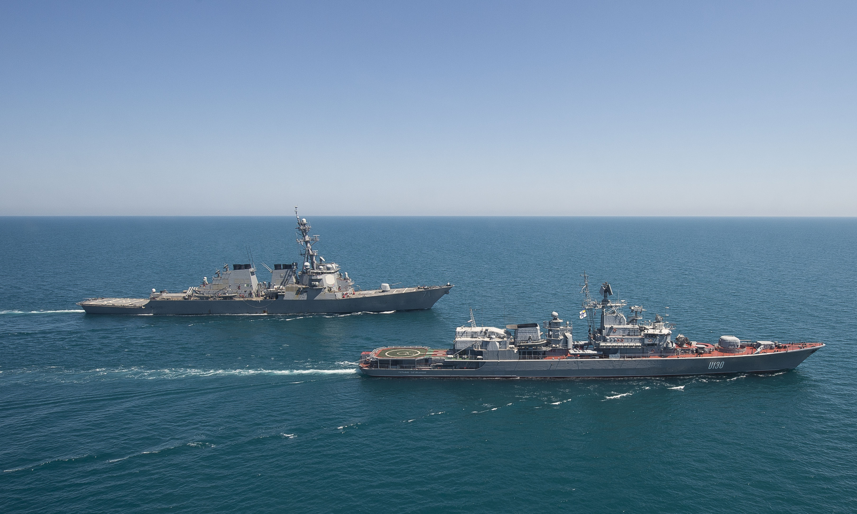 Russia Restricted Foreign Warships Navigation Off Crimean Coast For Six Months