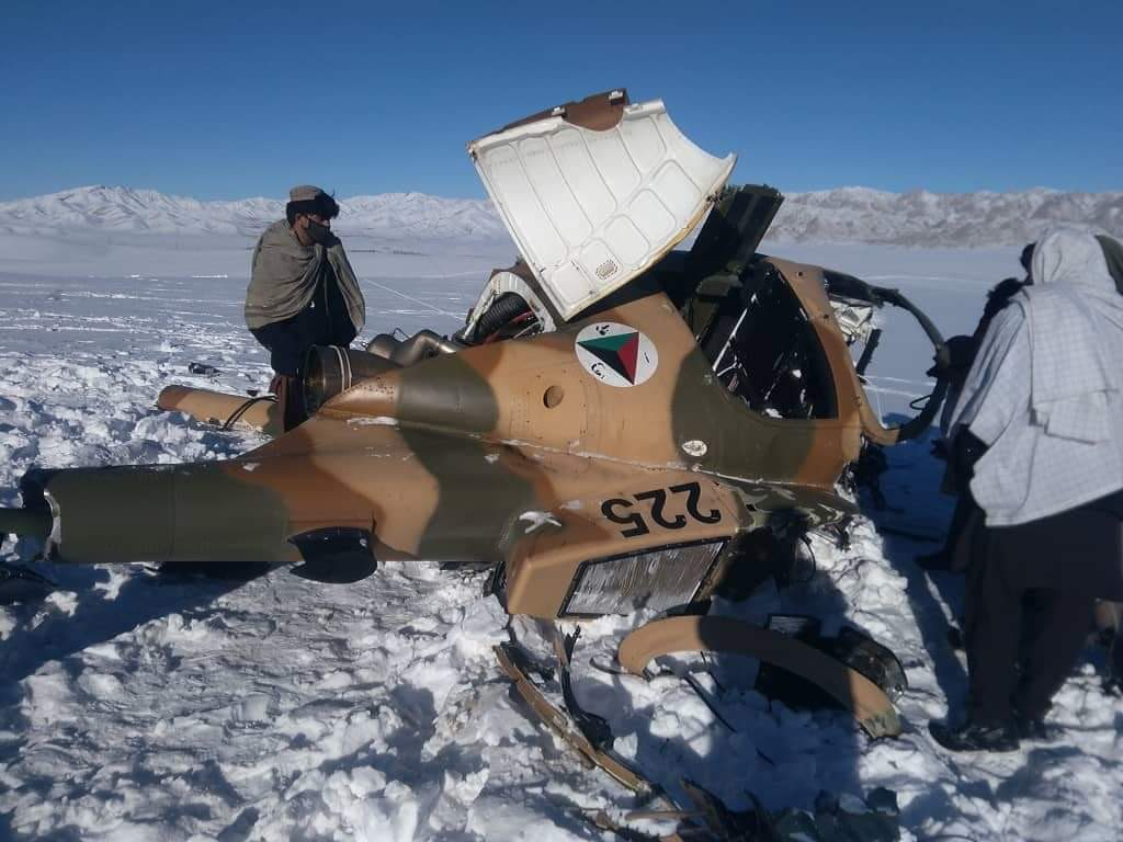 In Photos: Taliban Shot Down MD-530 Military Helicopter In Afghanistan