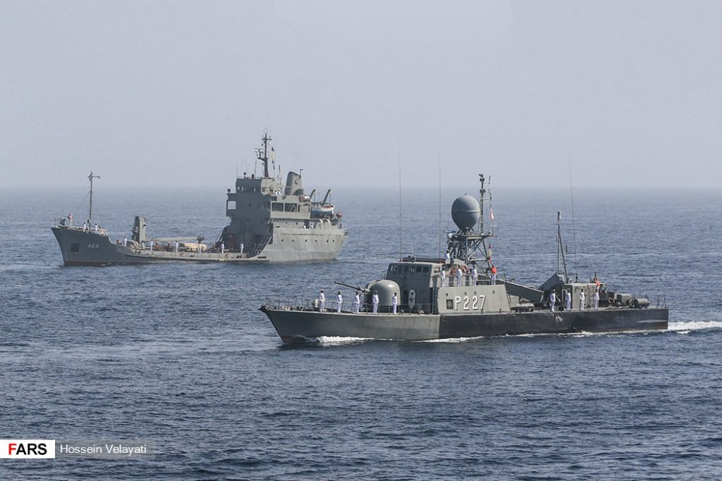 In Photos: Large-Scale Irainan Naval Drills In Persian Gulf, Sea Of Oman