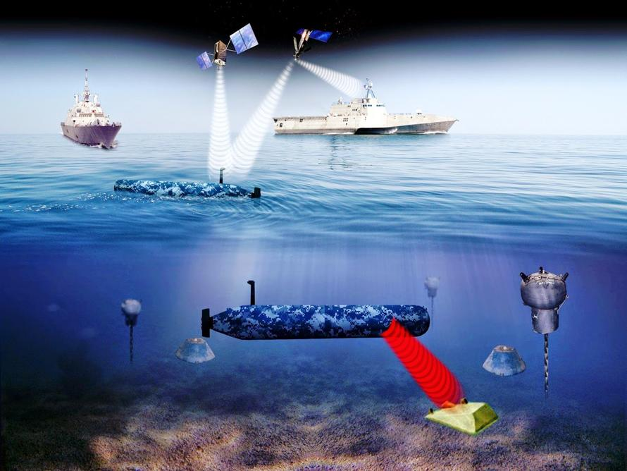 Us Navy S New Quot Robot Wolfpack Quot Of Orca Submarines Will Be
