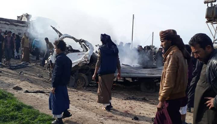 At Least 15 Killed In Bomb Car Explosion In Southeastern Deir Ezzor