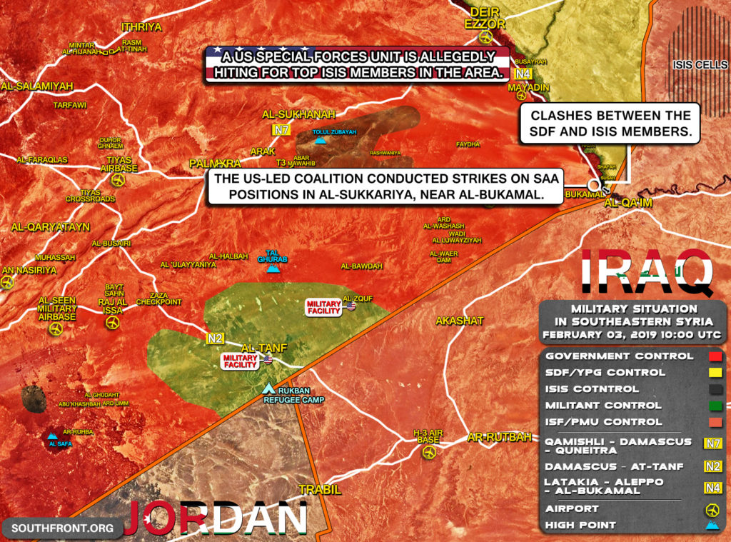 ISIS Attacks Syrian Army In Southern Deir Ezzor Few Hours After U.S. Airstrike