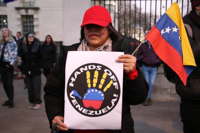 "David William Pear: ""Hands Off Venezuela, Canada and US Go Home!"""