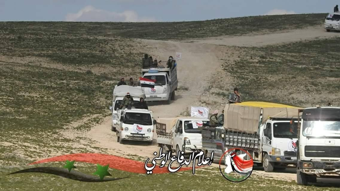 Army, National Defense Forces Finish Their Combing Operation In Central Syria (Photos)