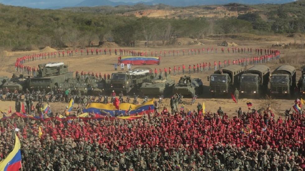 Resultado de la imagen para venezuela de armas militares.