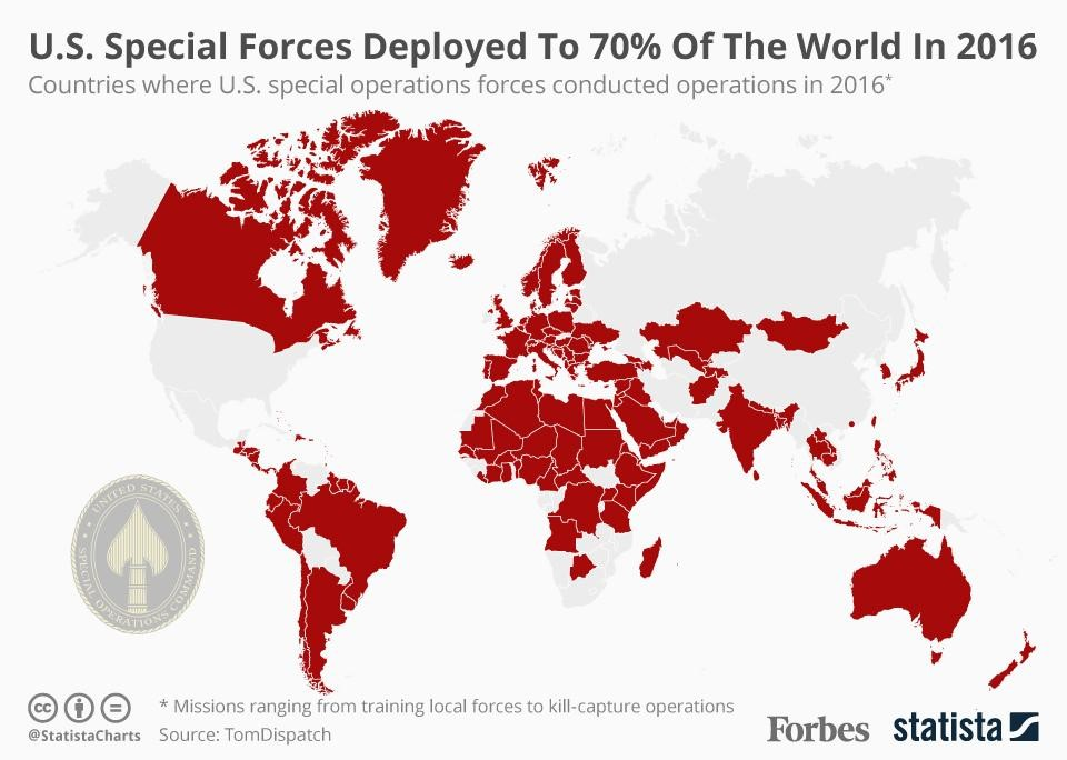 The Expanding Global Footprint of U.S. Special Operations