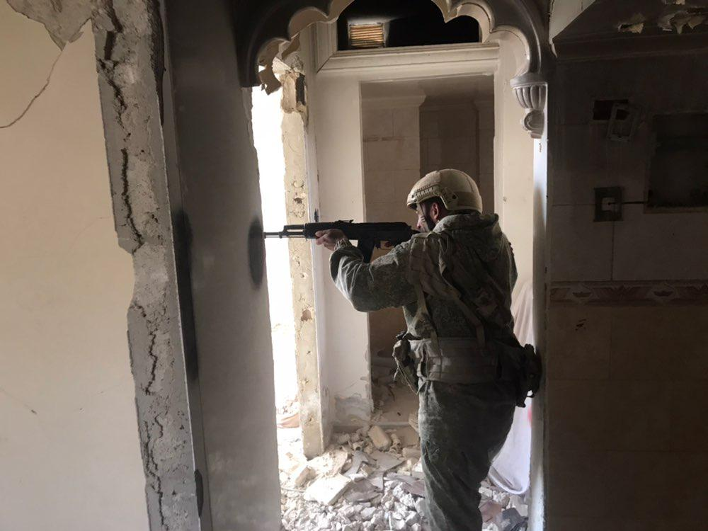 More Photos Of Russia-linked Private Military Contractors With Syrian Troops Appear Online