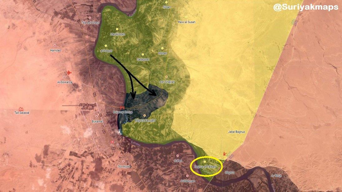 Les dirigeants de l'Etat islamique dans la vallée de l'Euphrate refusent de se rendre, provoquant une nouvelle attaque des forces soutenues par les États-Unis