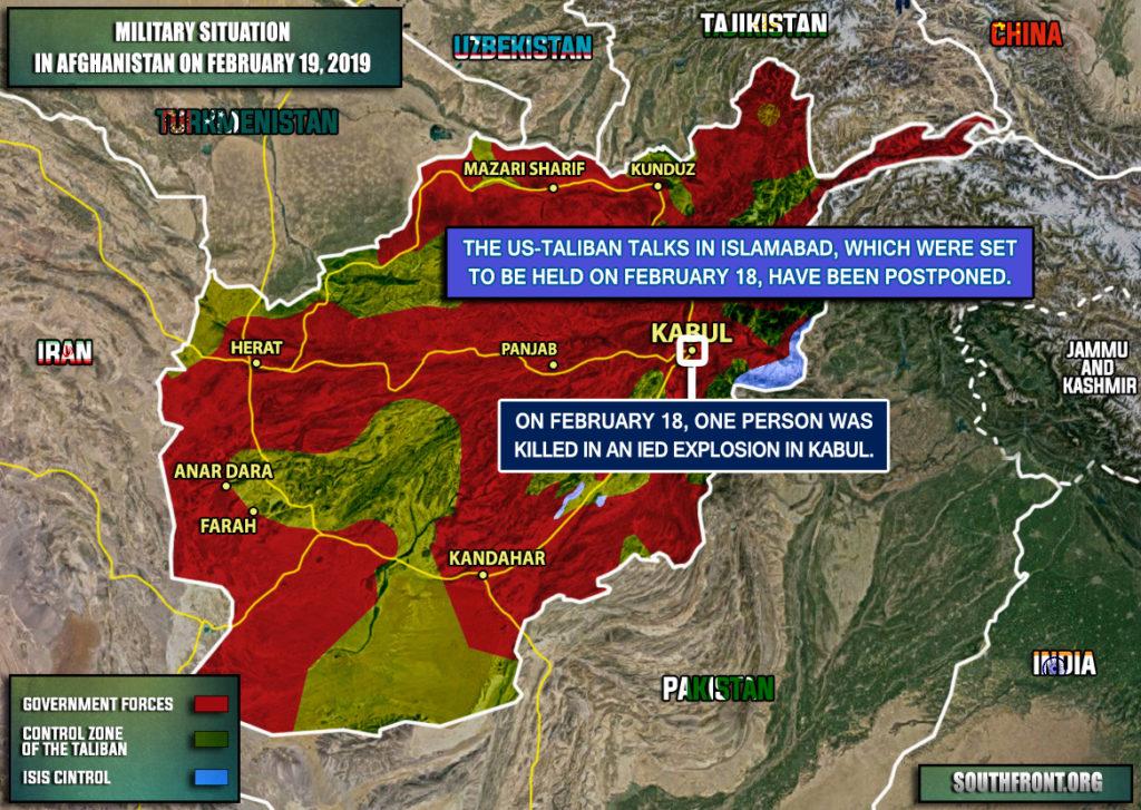 US-Taliban Talks In Islamabad Are Postponed: Taliban Says