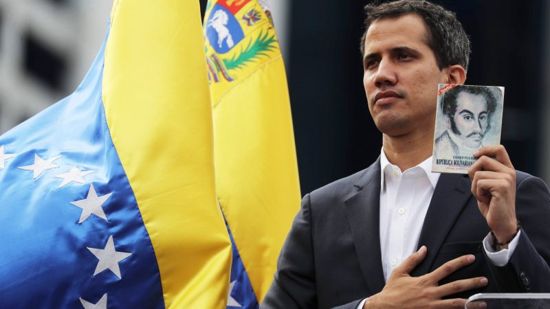 Maduro Closes Brazillian Border As Guaido Signs 'Presidential Decree' To Allow U.S. Aid In