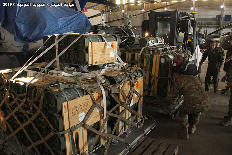 U.S. Delivers Laser-Guided Rockets To Lebanese Army (Photos)
