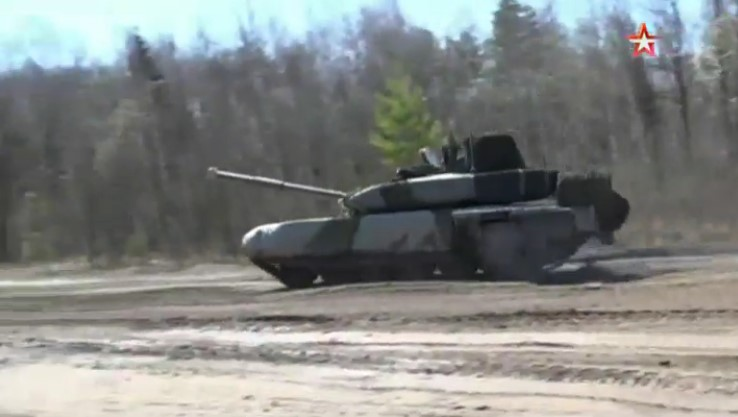 In Video: Live Fire Drils Of Russia's Modern T-90MS Battle Tank