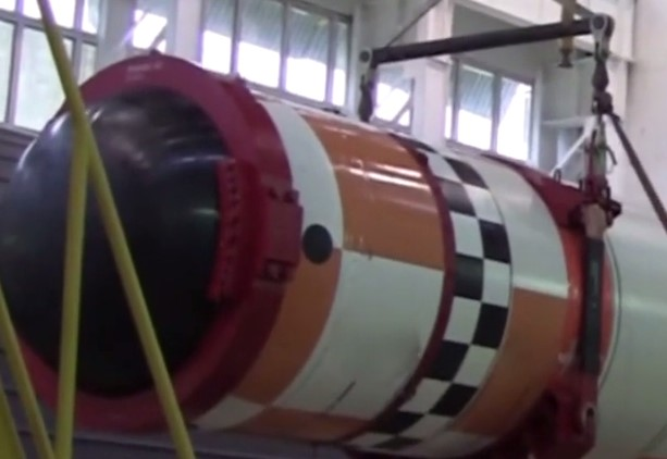 First Ever Video Of Nuclear-Capable Poseidon Underwater Drone Released Online