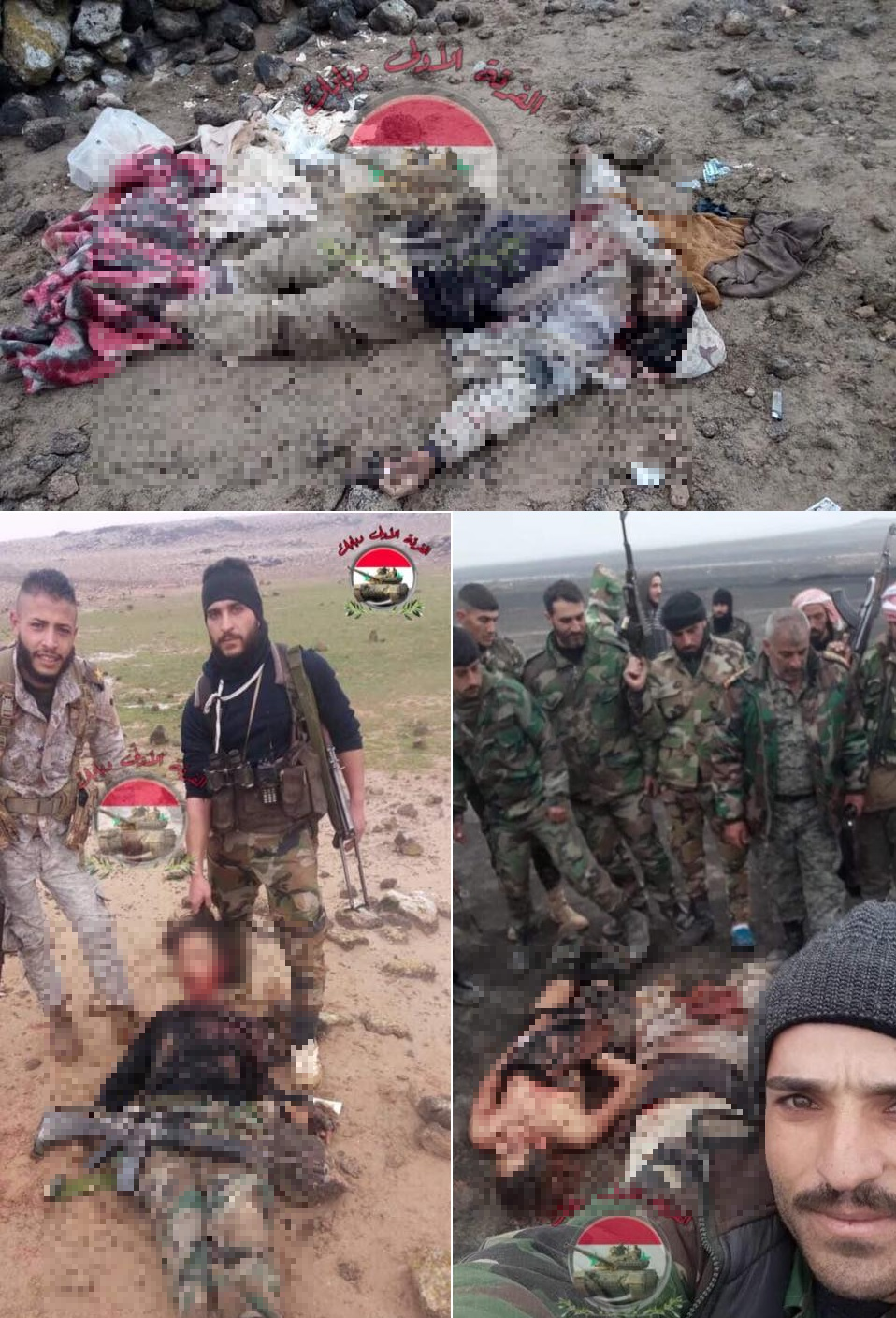 Syrian Army Ambushes Group Of ISIS Fighters In Damascus Desert (Photos)