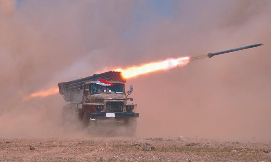 Syrian Army Rocket Strike Injured Militants In Southern Idlib