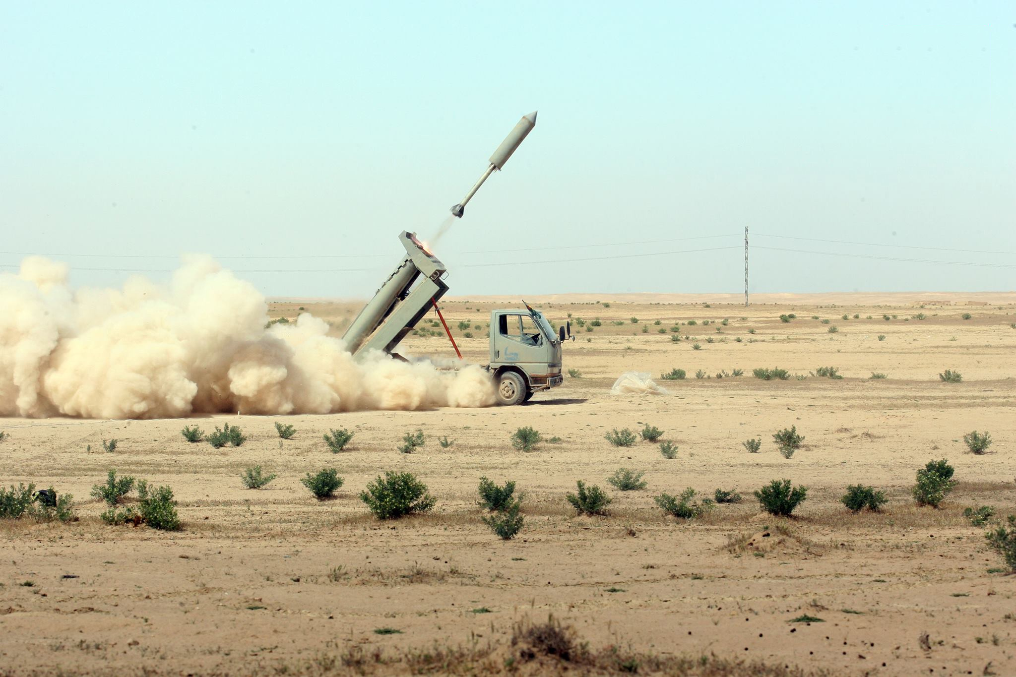 Iraqi Forces Launch 50 Rockets At ISIS Positions In Eastern Syria
