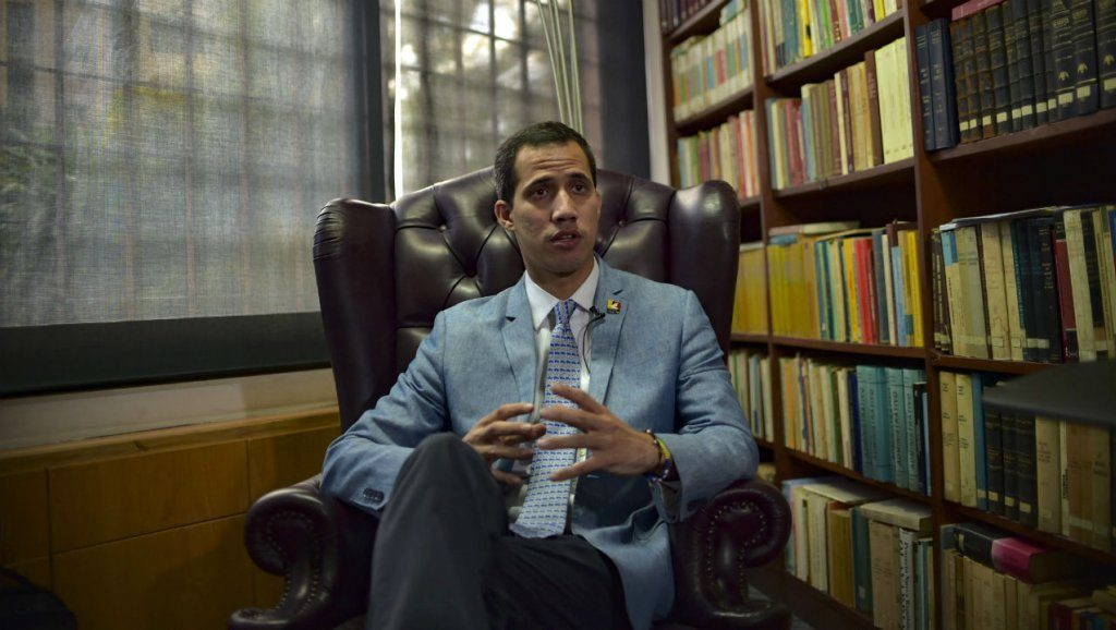 Juan Guaido Threatens To 'Authorize' US Military Intervention In Venezuela
