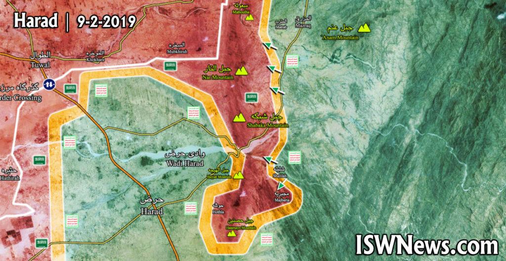 In Maps: Military Situation In Northwestern Yemen - Hajjan Battle