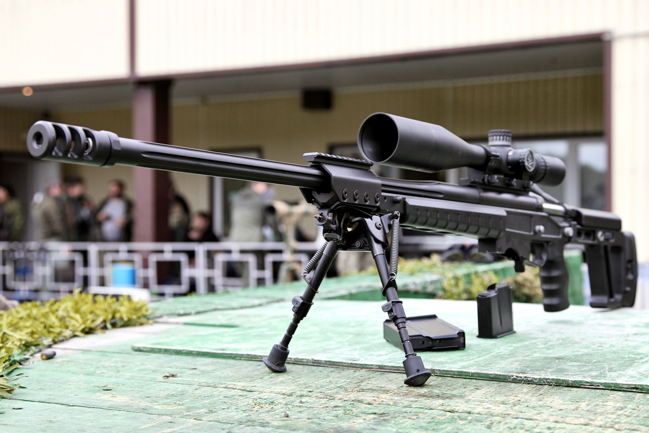 New Russian Long-Range Sniper Rifles Under Development Ahead