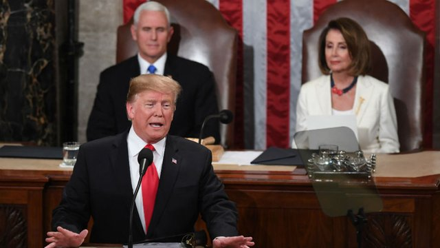 Trump's State of the Union: No To Emergency, Yes To Border Wall, Meeting with Kim Jong-Un Is Announced