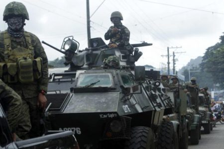Philippines Security Forces Kill 8 Militants Following Deadly Suicide Bombing In Sulu
