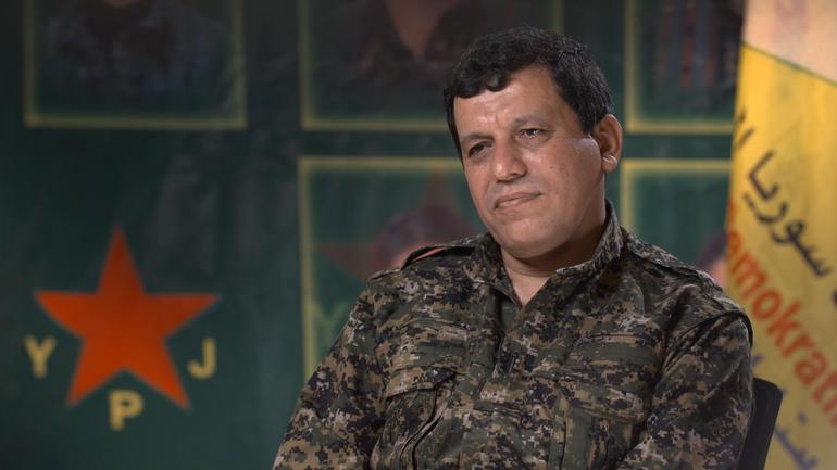 SDF Commander-in-Chief Says Group Has 110,000 Fighters, Calls For Semi-Merge With Syrian Army