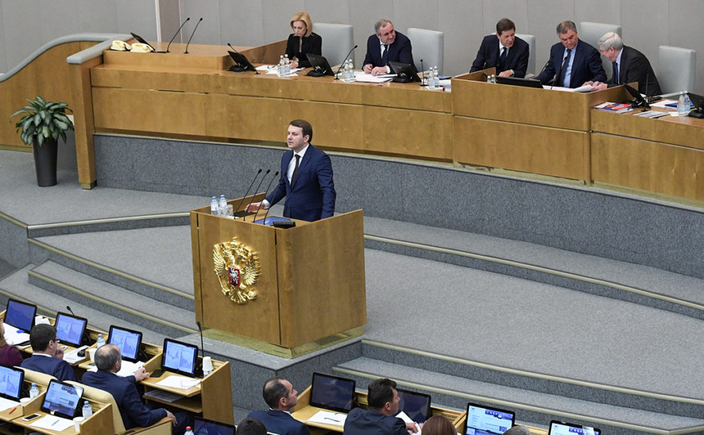 Russian Duma Speaker Rebukes Economy Minister In Another Sign Of Crisis Within Russian Elites