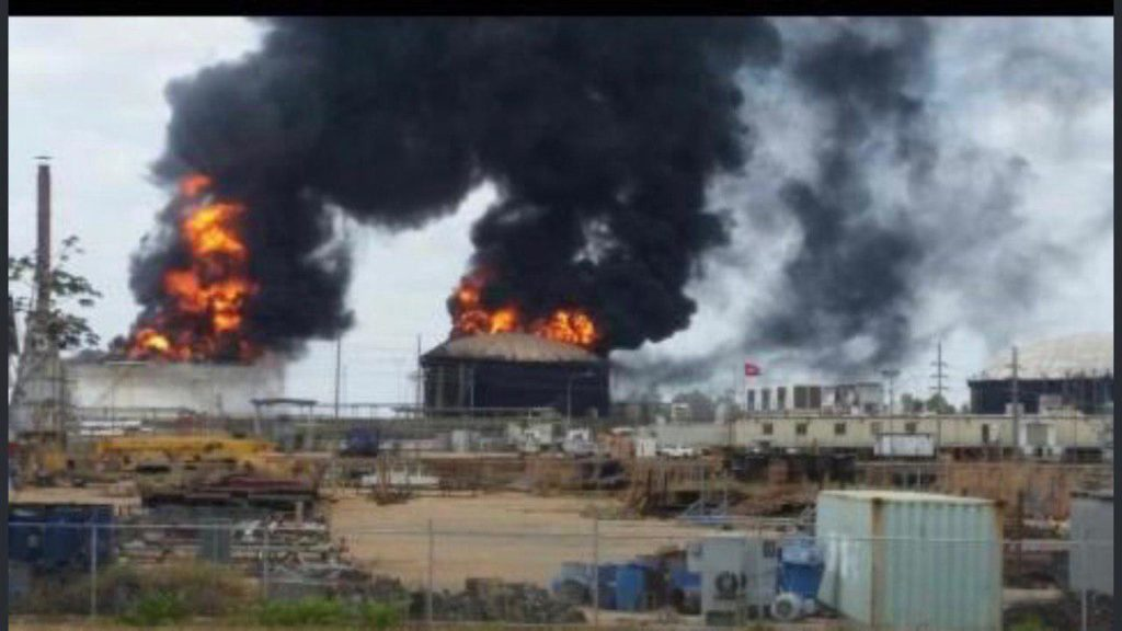 In Photos: Explosions At Venezuela's Petro San Felix Heavy Oil Project