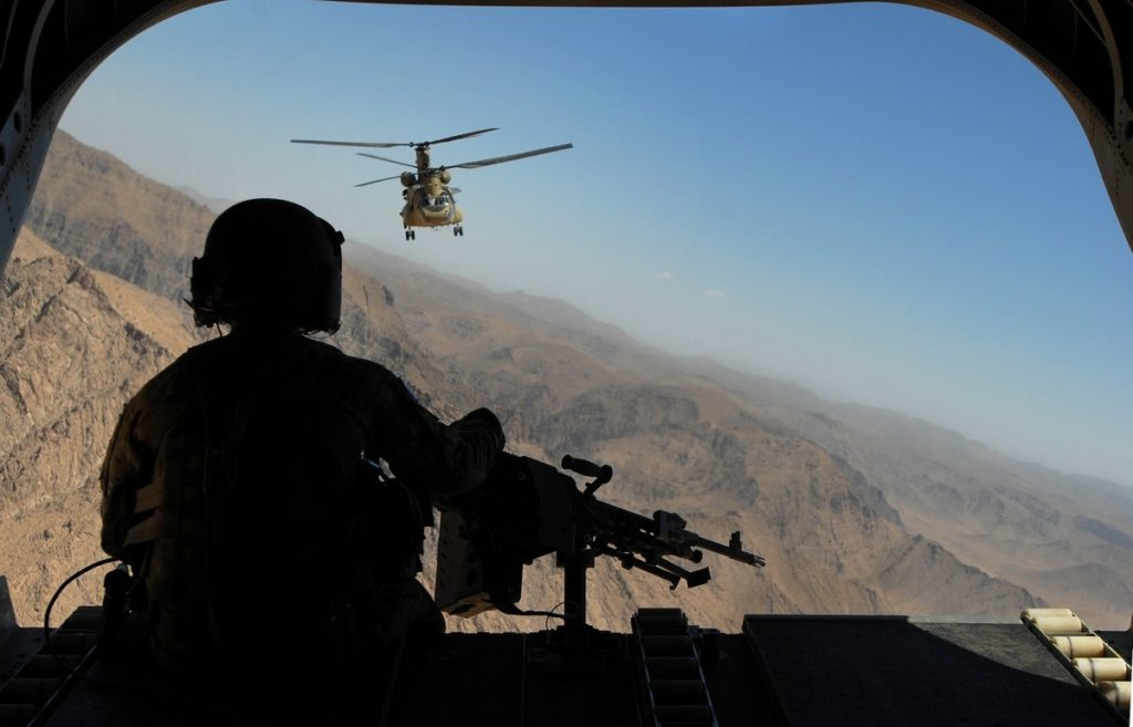 US Aircraft Struck Afghan Army Checkpoint In Response To 'Friendly Fire' Incident