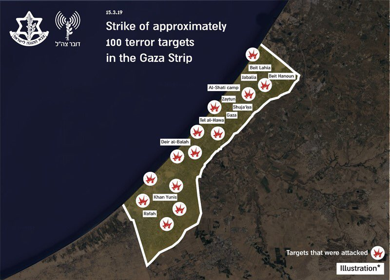 Over 100 Strikes Hit Gaza. Palestinian Sources Accuse Israel Of Staging Provociation To Trigger Escalation