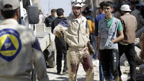 Trump Administration $5 Million For 'Heroic' White Helmets In Syria