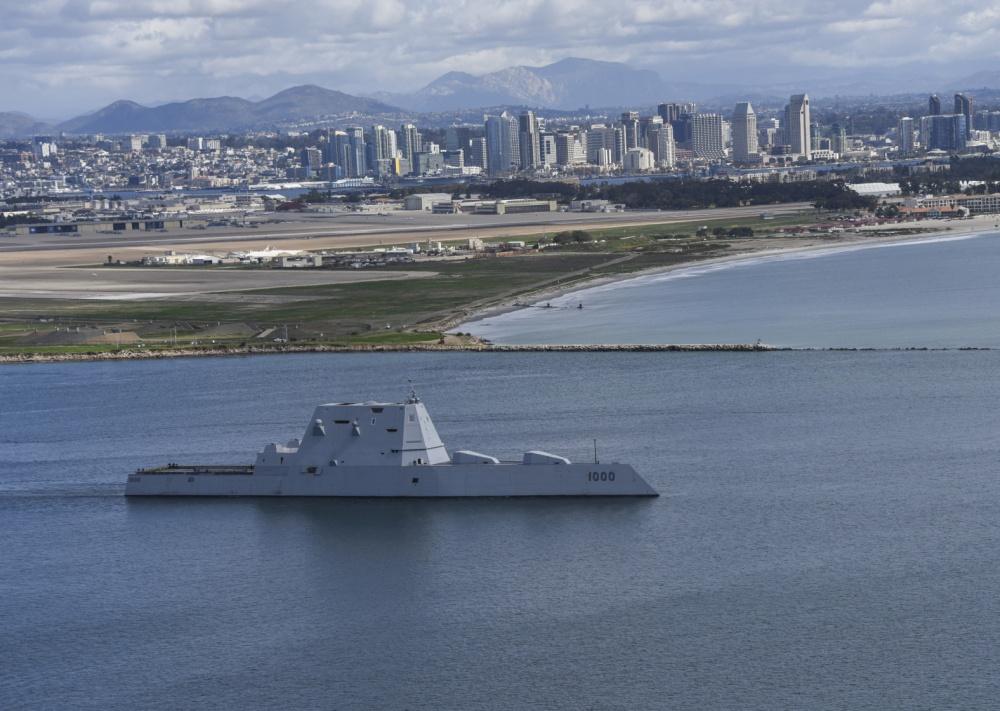 USS Zumwalt (DDG 1000) Departed For First Operational Deployment (Photos)