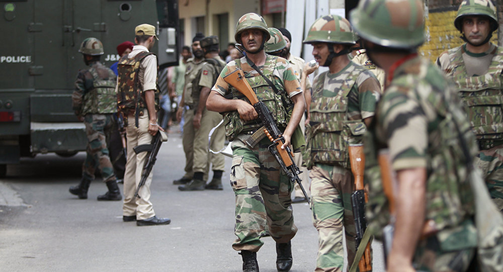 3 Troops Injured In Grenade Explosion In Indian-controlled Kashmir