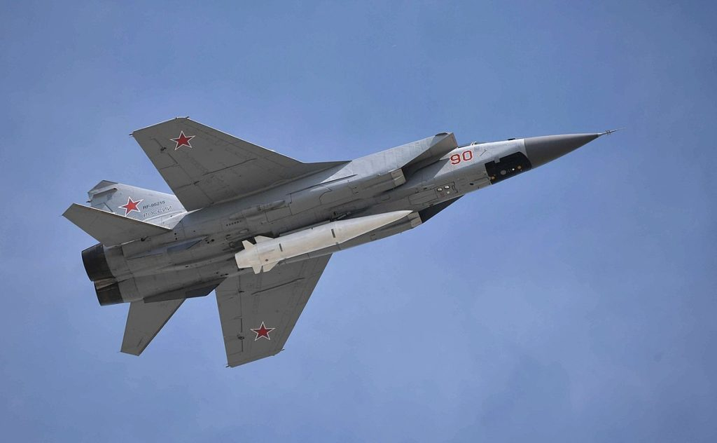 Russia Moved 20 Kinzhal Hypersonic Missiles To Testing Site: Report
