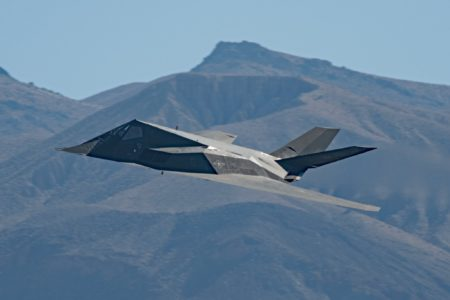 """Stunning Video Show """"Supposedly Retired,"""" F-117 Nighthawk Stealth Fighters In Action"""