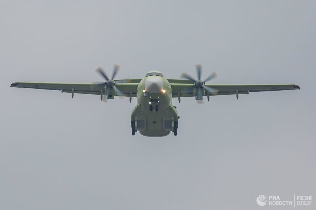 Russia's Il-112V Military Transport Plane Successfully Completed Its First Test Flight (Video)