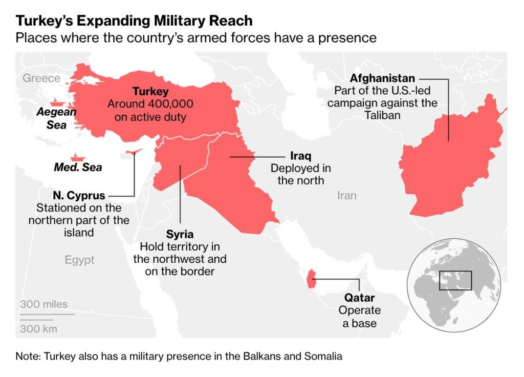 Map Update: Turksih Military Presence In Greater Middle East