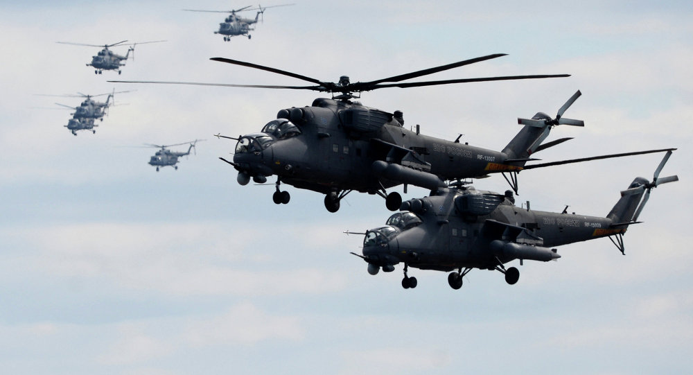 Russia Launches Large-Scale Modernization Program Of Mi-35M Military Helictoper Fleet