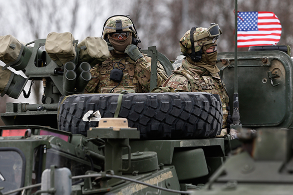 U.S. Preparing For War With Russia In Europe