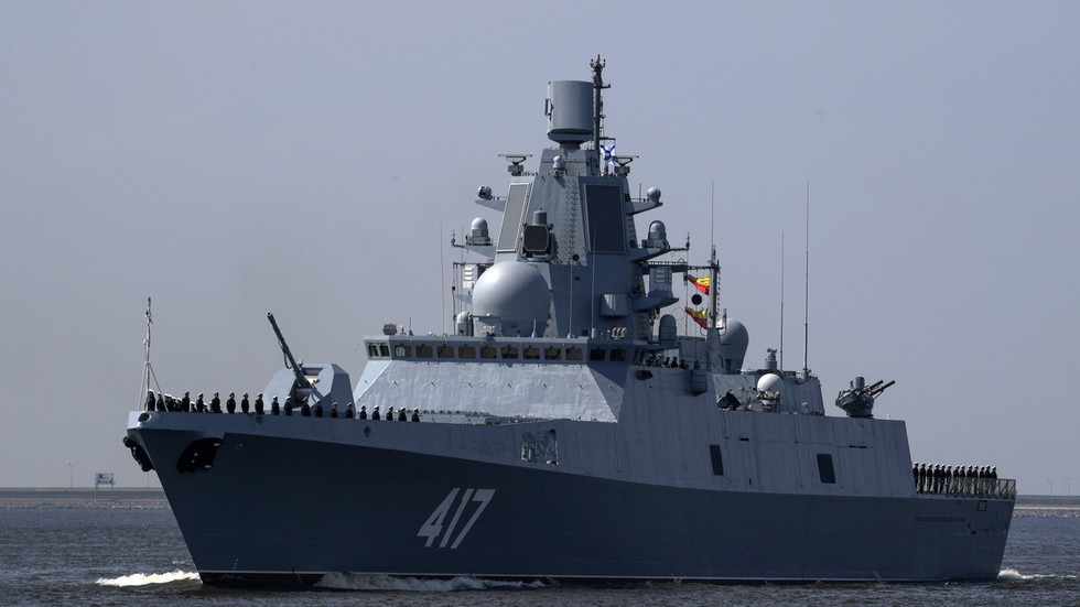 Russian Frigate With 'Hallucinating' Device Aboard Seals To Mediterranean