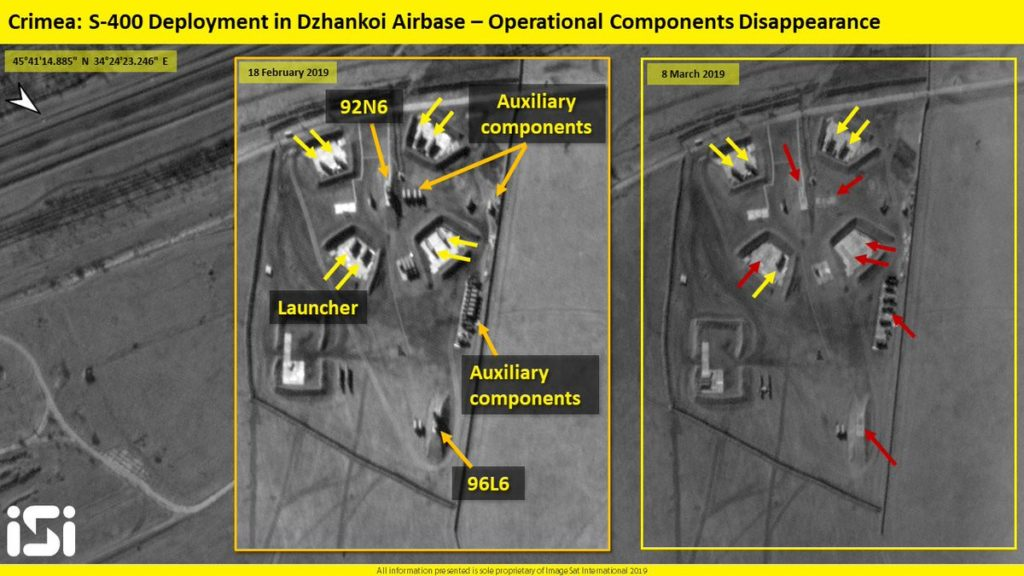 Satellite Images: S-400 Position Near Dzhankoi Airbase In Russia's Crimea